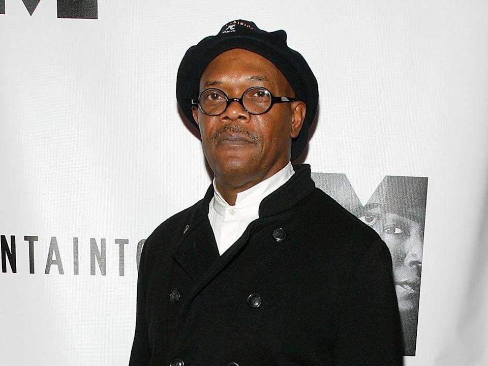The latest 'racelifting' backlash centres on the casting of Samuel L Jackson in the role of Marvel's Nick Fury. Tweets and Facebook posts in a dedicated group, 'Nick Fury is white not black', are already complaining about the switch before the film's release next month (Getty Images)