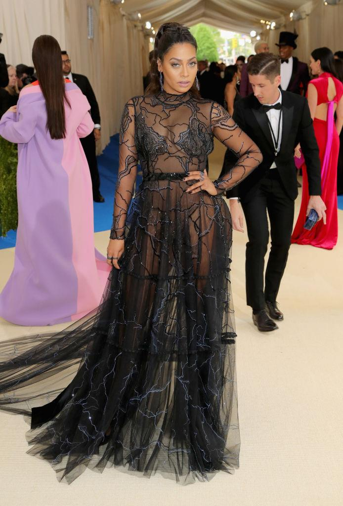 La La Anthony at the 2017 Met Gala. (Photo: Getty Images)