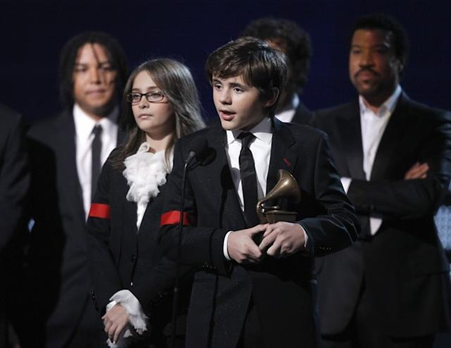 Paris and Prince Jackson