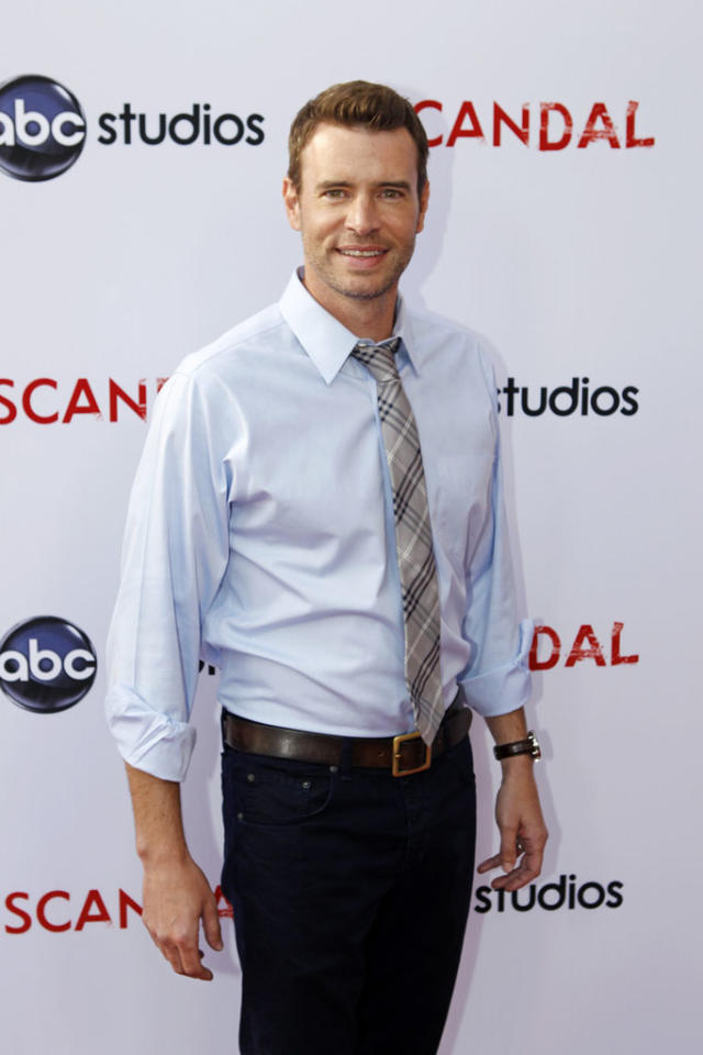 """Scott Foley attends """"An Evening with Scandal"""" at The Academy of Television Arts & Sciences for their season finale table read and Q&A on Thursday, May 16, 2013."""