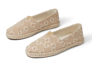 """<p><strong>Toms</strong></p><p>toms.com</p><p><strong>$64.95</strong></p><p><a href=""""https://go.redirectingat.com?id=74968X1596630&url=https%3A%2F%2Fwww.toms.com%2Fwomen%2Fnatural-geometric-diamond-woven-womens-espadrilles&sref=https%3A%2F%2Fwww.elledecor.com%2Fshopping%2Fhome-accessories%2Fg31980395%2Fhome-shopper-guide-to-doing-good%2F"""" rel=""""nofollow noopener"""" target=""""_blank"""" data-ylk=""""slk:Shop Now"""" class=""""link rapid-noclick-resp"""">Shop Now</a></p><p>Not only do they make the most comfortable shoes to wear around the house, TOMS has also always been a socially conscious company. Now TOMS are focusing their efforts on giving to <a href=""""https://www.crisistextline.org/partnerships/"""" rel=""""nofollow noopener"""" target=""""_blank"""" data-ylk=""""slk:Crisis Textline"""" class=""""link rapid-noclick-resp"""">Crisis Textline</a>, so that people who are feeling isolated and anxious can set up a call to speak in confidence with a trained counselor. </p>"""