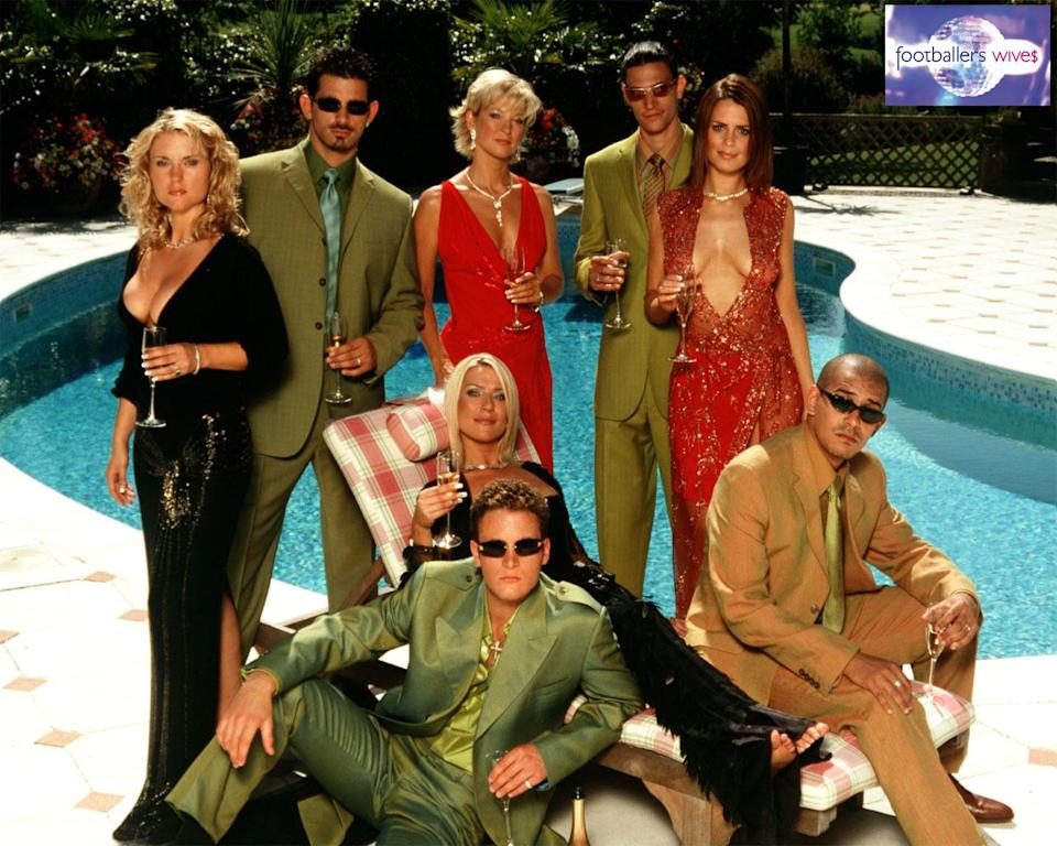 Footballers' Wives ran from 2002 to 2006. [Photo: Footballers' Wives/ITV]