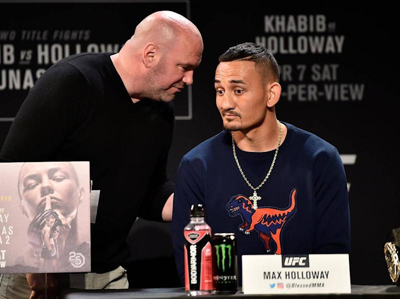 Max Holloway has been declared unfit to compete (Getty)
