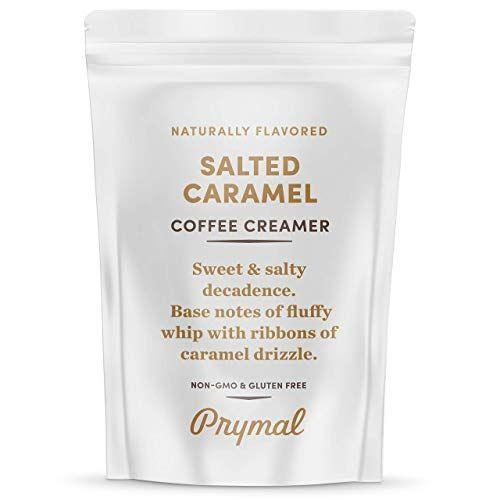 """<p><strong>Prymal Coffee Creamer</strong></p><p>amazon.com</p><p><strong>$24.99</strong></p><p><a href=""""https://www.amazon.com/dp/B07PML8RX2?tag=syn-yahoo-20&ascsubtag=%5Bartid%7C1782.g.24488778%5Bsrc%7Cyahoo-us"""" rel=""""nofollow noopener"""" target=""""_blank"""" data-ylk=""""slk:BUY NOW"""" class=""""link rapid-noclick-resp"""">BUY NOW</a></p><p>This salted caramel creamer will give your coffee all of the sweet taste of a Dunkin' or Starbucks beverage, without the sugary syrups and add-ins.</p>"""