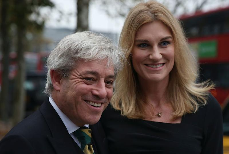 Mr Bercow's wife, Sally, has made no secret of her support for Remain (Getty)