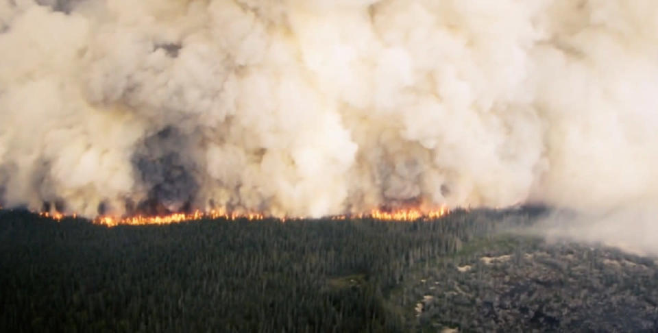 Smoke from one of Northwest Territories' worst fire seasons made it to Portugal