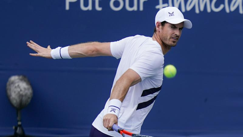 Andy Murray claims hard-fought win on ATP Tour return
