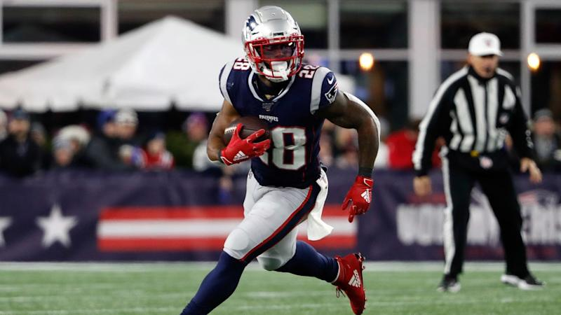 James White inactive for Patriots vs. Seahawks after father's death