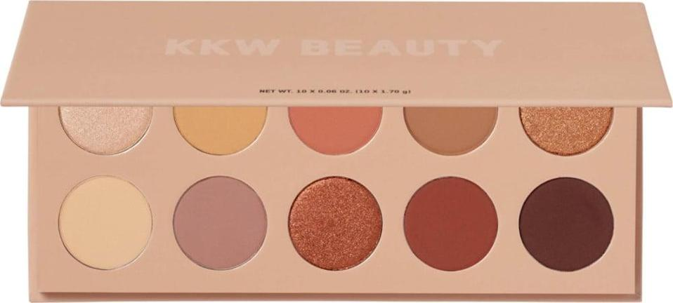<p>If you love a good neutral eye, you can't go wrong with the <span>KKW Beauty Classic Eyeshadow Palette</span> ($23, originally $45). You can go glam or keep it simple with this versatile palette.</p>