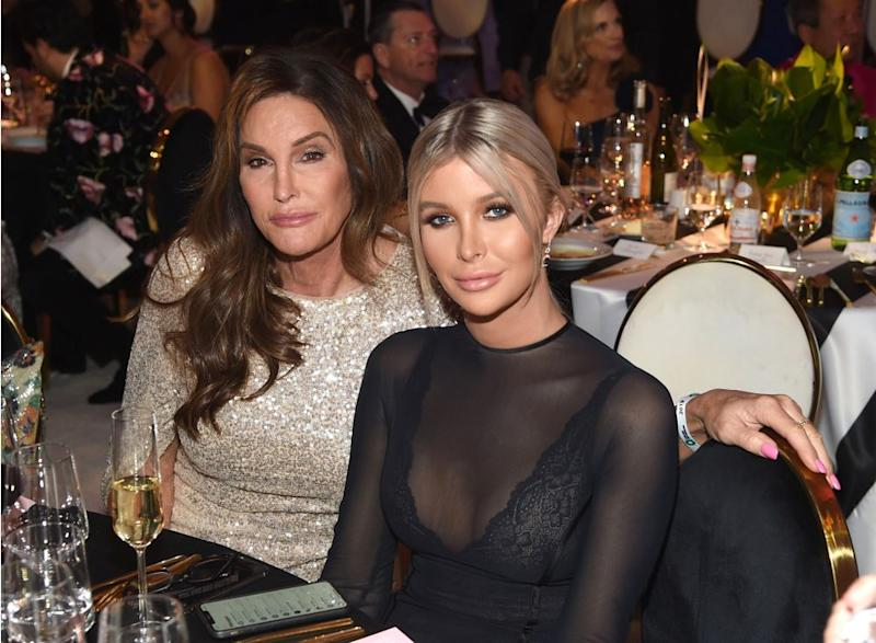 Caitlyn Jenner and Sophia Hutchins | Jamie McCarthy/Getty