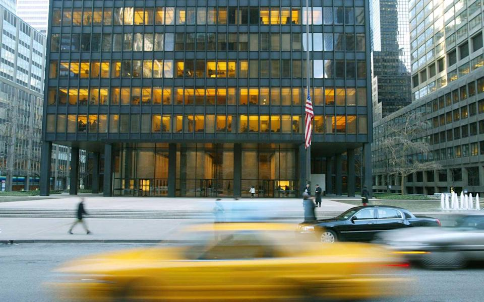 """<p>While the business-centric East 50s of Manhattan don't typically attract tourists, the skyscrapered blocks have been featured in many films. The Seagram Building, on Park Avenue at 52nd, is in two Christmas movies that — ironically enough — remind us there's more to life than work. In the 2000 film """"The Family Man,"""" Nic Cage spends Christmas Eve working here before a series of events has him questioning his priorities. And in 1988's """"Scrooged,"""" Bill Murray sees those infamous Christmas ghosts and loses some of his bah humbug. (And that's to say nothing of the building's architectural history.) Several other buildings in the area have been featured in non-holiday movies, so if it feels familiar, you've probably seen a lot of '80s movies, like I have. And a subway grate at 52nd and Lexington is also a landmark: It's the spot where Marilyn Monroe posed for the cameras in that white dress.</p>"""