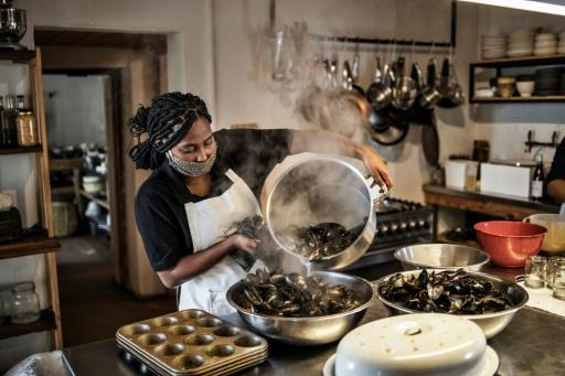 Mussel power: Wolfgat's speciality is seafood and ingredients foraged from the ocean