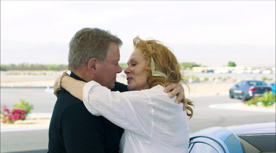 William Shatner and Jean Smart have a late-in-life romance in the new comedy, 'Senior Moment' (Photo: Screen Media/Goff Productions)