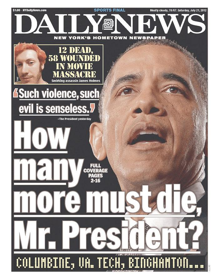 New York Daily News, July 21, 2012