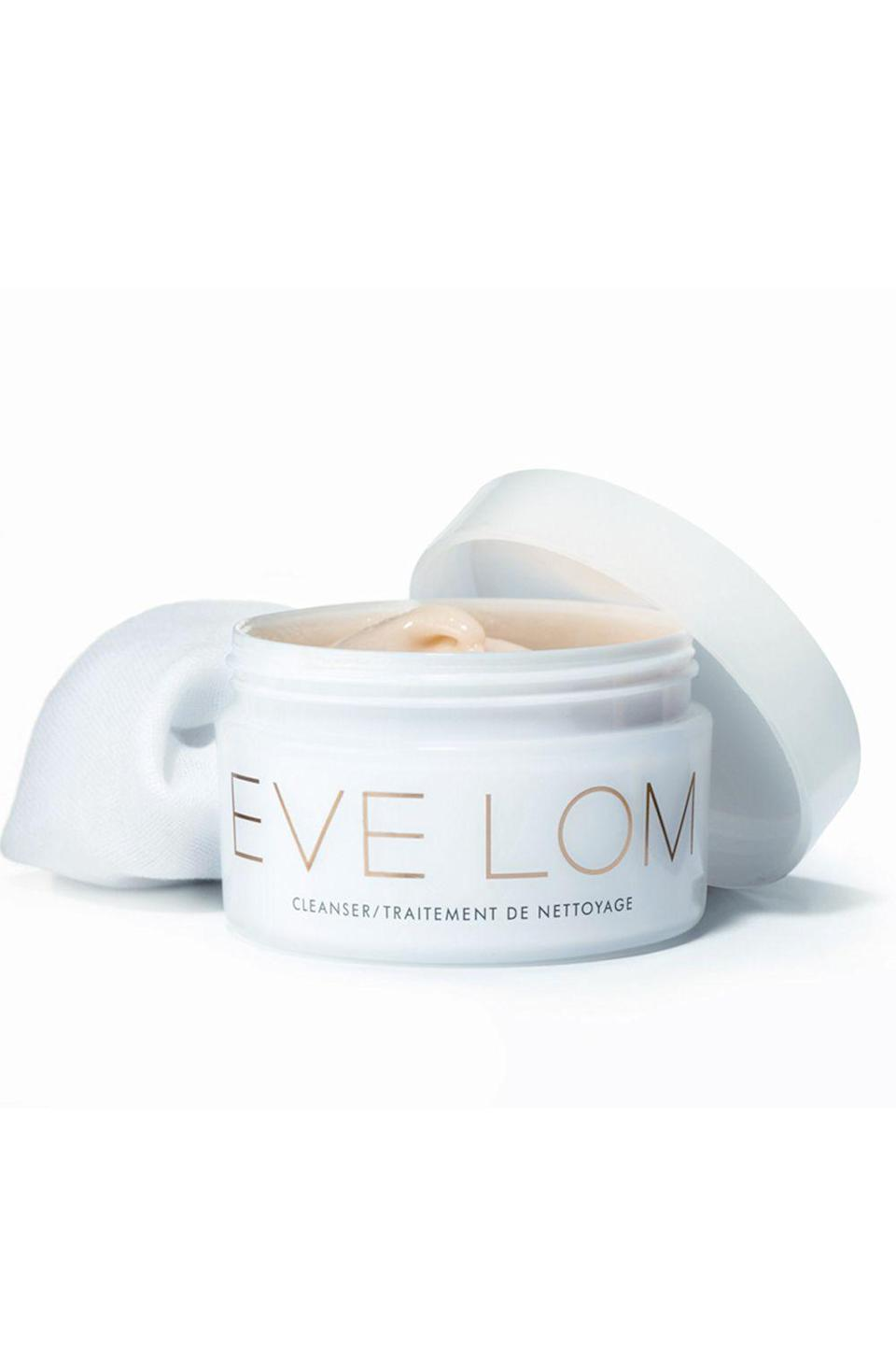 """<p><strong>Eve Lom</strong></p><p>sephora.com</p><p><strong>$50.00</strong></p><p><a href=""""https://go.redirectingat.com?id=74968X1596630&url=https%3A%2F%2Fwww.sephora.com%2Fproduct%2Fcleanser-P381436&sref=https%3A%2F%2Fwww.cosmopolitan.com%2Fstyle-beauty%2Fbeauty%2Fg19620718%2Fbest-makeup-remover%2F"""" rel=""""nofollow noopener"""" target=""""_blank"""" data-ylk=""""slk:Shop Now"""" class=""""link rapid-noclick-resp"""">Shop Now</a></p><p>If you fancy yourself a full-face beat and need something that's going to<strong> cut through your <a href=""""https://www.cosmopolitan.com/style-beauty/g3849028/best-full-coverage-foundation/"""" rel=""""nofollow noopener"""" target=""""_blank"""" data-ylk=""""slk:full-coverage foundation"""" class=""""link rapid-noclick-resp"""">full-coverage foundation</a></strong>—without stripping your face of its natural oils—meet your new BFF. Sure, this makeup removing balm is on the pricier side, but TBH, it's worth not having to tug on your skin <em>or </em>use 300 cotton pads to take off a day's worth of makeup.</p>"""