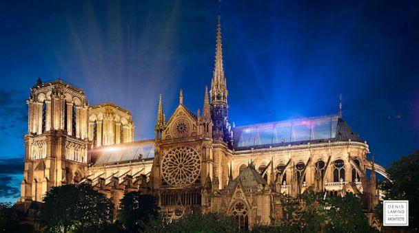 PHOTO: Architect Denis Laming calls his Notre Dame design, 'Cathedral of Light.' (Denis Laming)