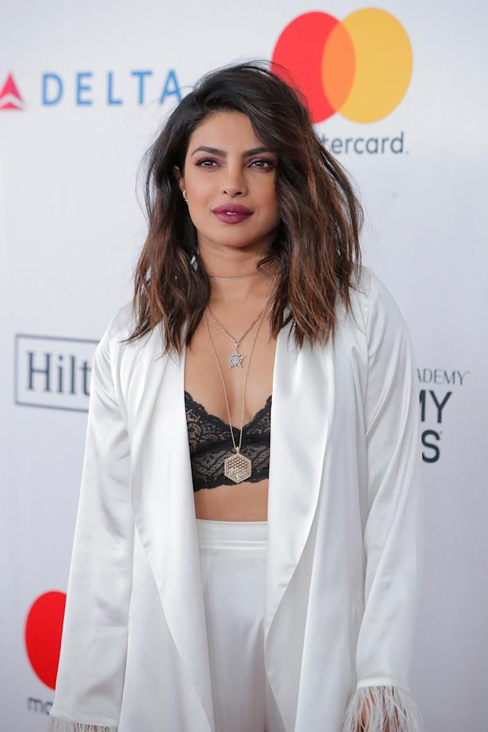 Priyanka also runs Purple Pebble Pictures, a film production company.