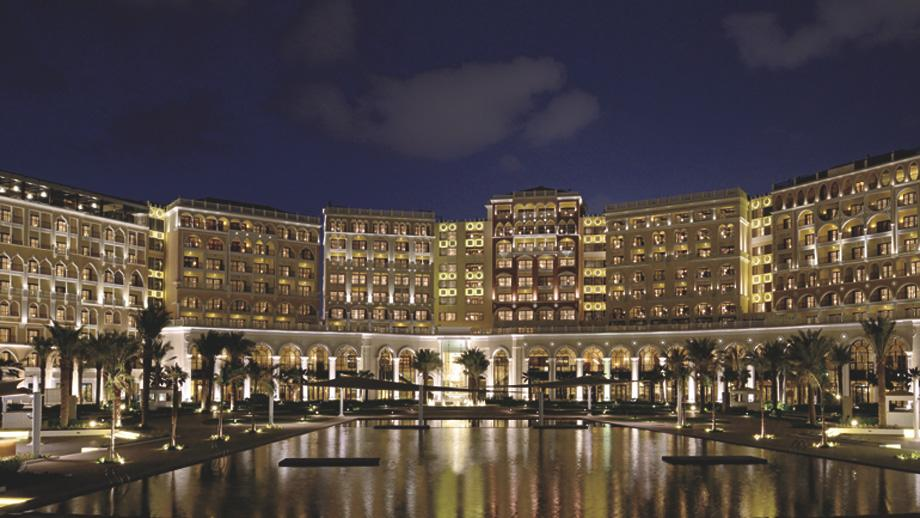 "<span class=""itemContent"" style=""display: inline;"">The Venetian-inspired resort is arranged in a crescent formation around the stunning 1,600-square meter pool. Photo: </span><span class=""itemContent"" style=""display: inline;"">Photo: www.ritzcarlton.com</span>"