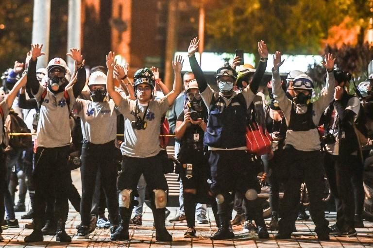 At least 61 people, including two police officers, have been killed and more than 2,000 injured in six weeks of protests