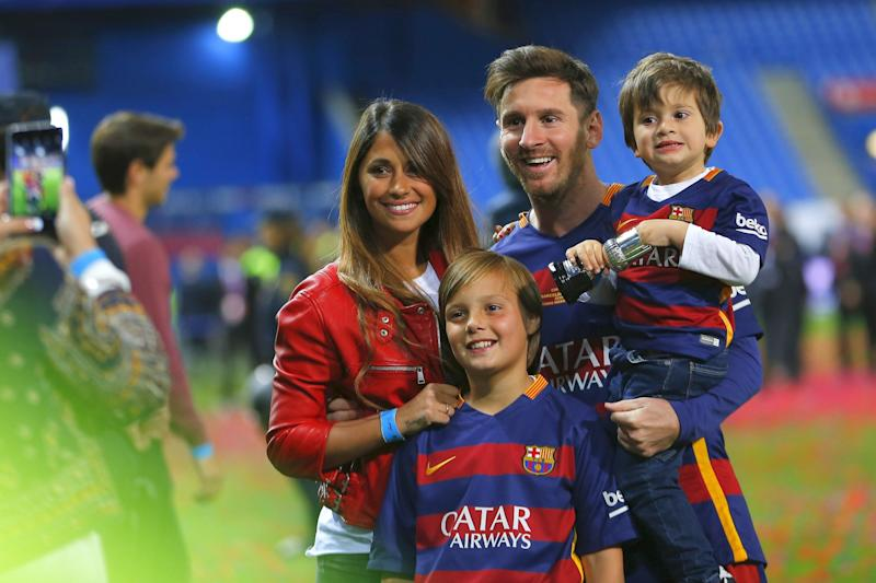 Sportler-Party des Jahres: Messi heiratet am Rande des Slums