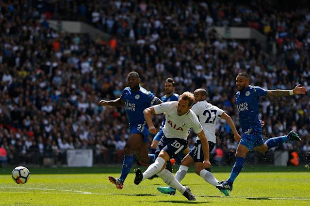 Tottenham vs Leicester City LIVE: Premier League 2017-18 latest score, goal updates, TV channel, team news, line-ups as Spurs bid farewell to Wembley Stadium
