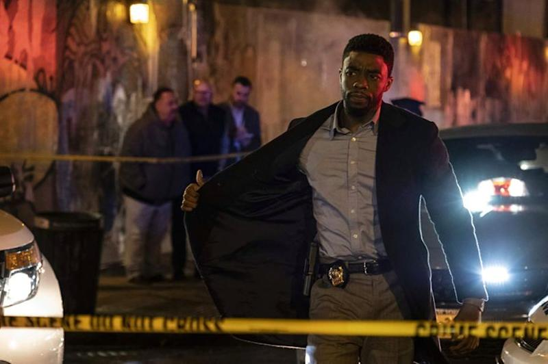 Chadwick Boseman in 21 Bridges (STXfilms)