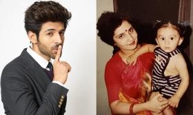 Kartik Aaryan shares an adorable throwback picture sporting two 'ponytails'