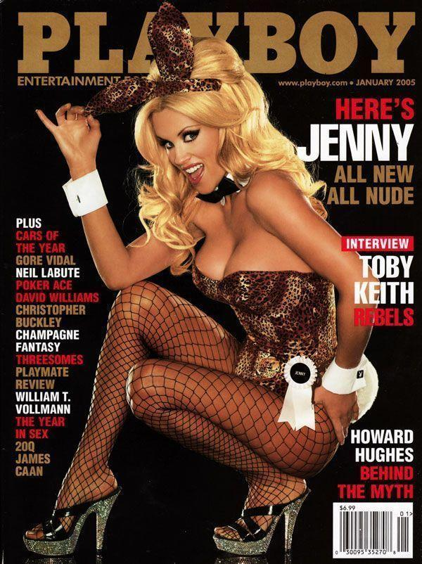 <p><strong>Issue: </strong>January 2005</p><p>Jenny McCarthy went full bunny for her 2005 cover. </p>