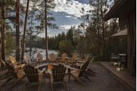 """<p>One of the newest resorts on this list, <a href=""""https://www.pawsup.com/"""" rel=""""nofollow noopener"""" target=""""_blank"""" data-ylk=""""slk:The Resort at Paws Up"""" class=""""link rapid-noclick-resp"""">The Resort at Paws Up</a> has quickly become a hotspot for a luxe family vacation. This all-inclusive resort features an abundance of family packages for whatever getaway you're seeking. Plus, there are special family homes and glamping tents designed to fit the whole gang.</p><p>Seated on 37,000 pristine acres of wilderness, The Resort at Paws Up offers the National Park experience with all the amenities of a fabulous hotel. Plus, there are special adventures, spa treatments, and activities just for kids when the parents need some time to adventure and unwind on their own. </p>"""