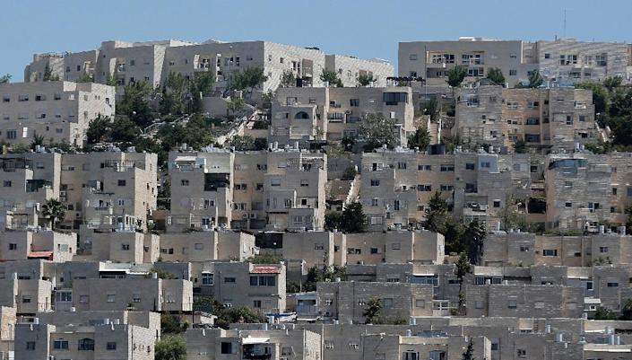 Buildings in Ramat Shlomo, a Jewish settlement in the mainly Palestinian eastern sector of Jerusalem, where Israel has approved construction of 900 settler homes (AFP Photo/Ahmad Gharabli)