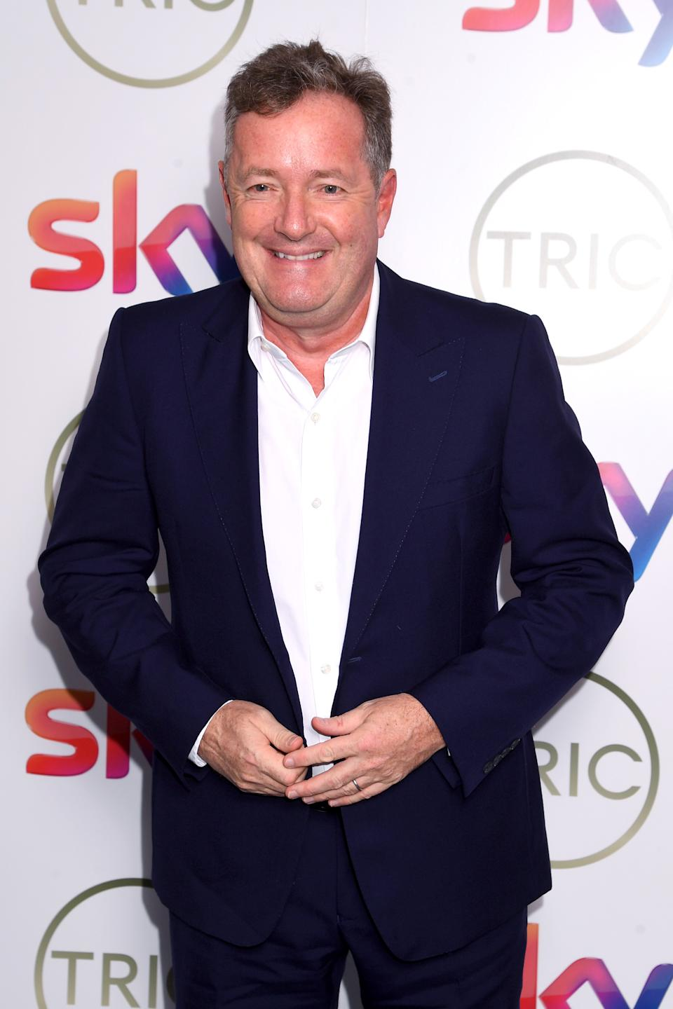 Piers Morgan attends the TRIC Awards 2020 at The Grosvenor House Hotel on March 10, 2020 in London, England. (Photo by Dave J Hogan/Getty Images)