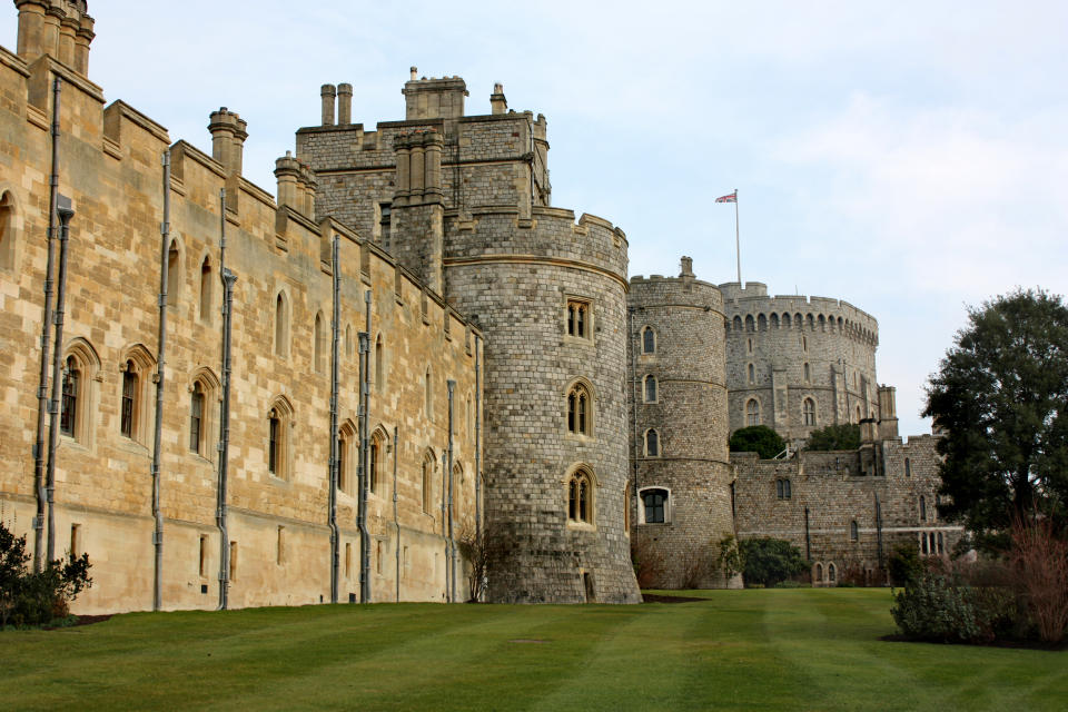Historic castle in Windsor England