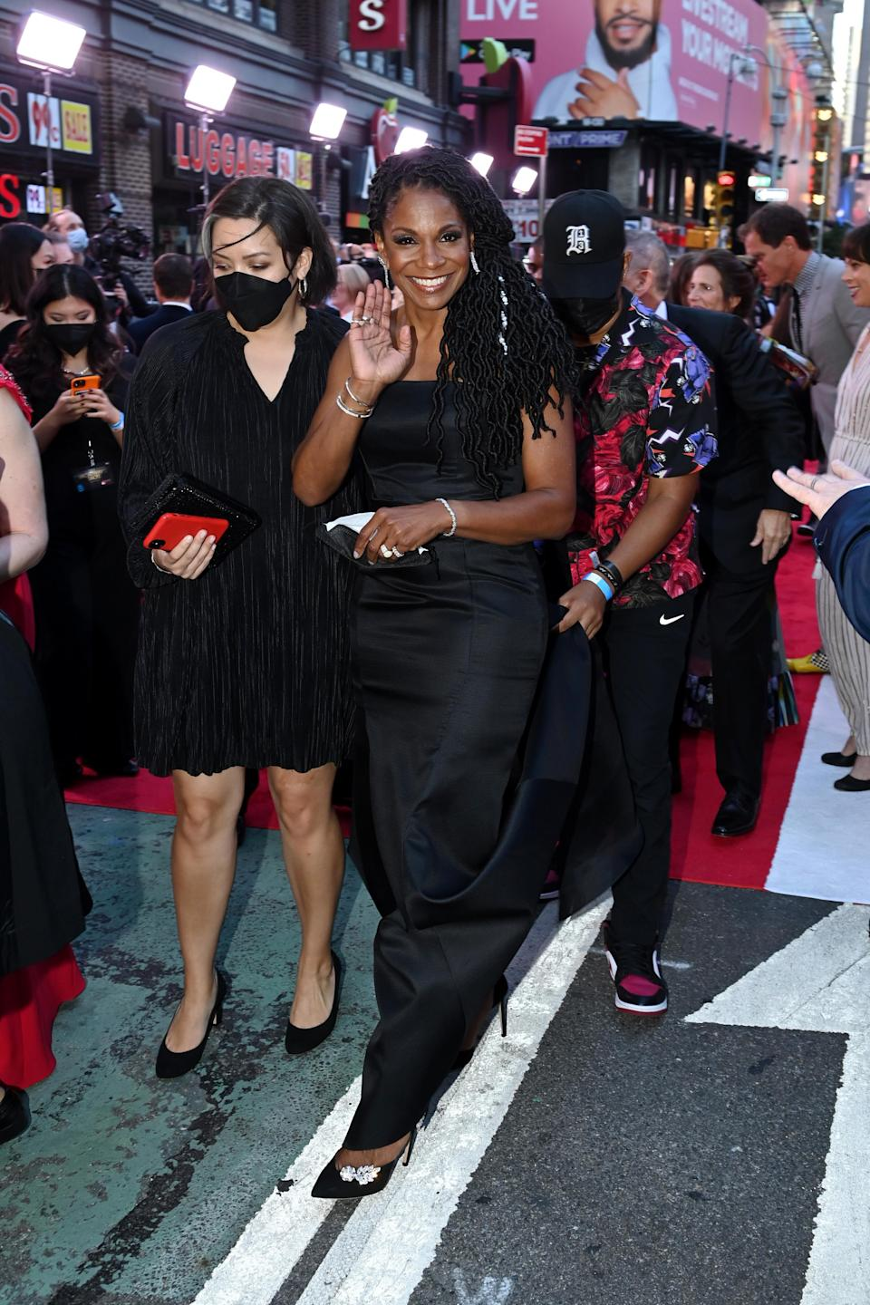 Audra McDonald attends the 74th Annual Tony Awards at Winter Garden Theatre on September 26, 2021 in New York City. - Credit: Courtesy of Tony Awards