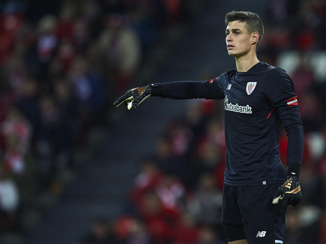 Kepa Arrizabalaga has joined Chelsea after two seasons at Athletic Bilbao. (Getty)