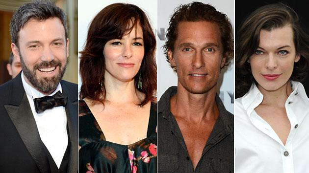 Ben Affleck, Matthew McConaughey, Milla Jovovich, Jason London and Parker Posey