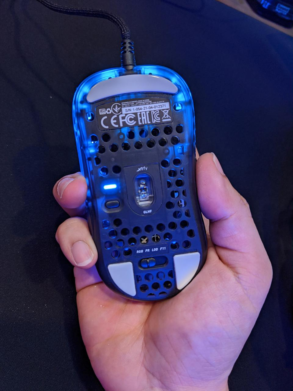 The function slider for the mouse's top button. (Photo: Yahoo Gaming SEA)