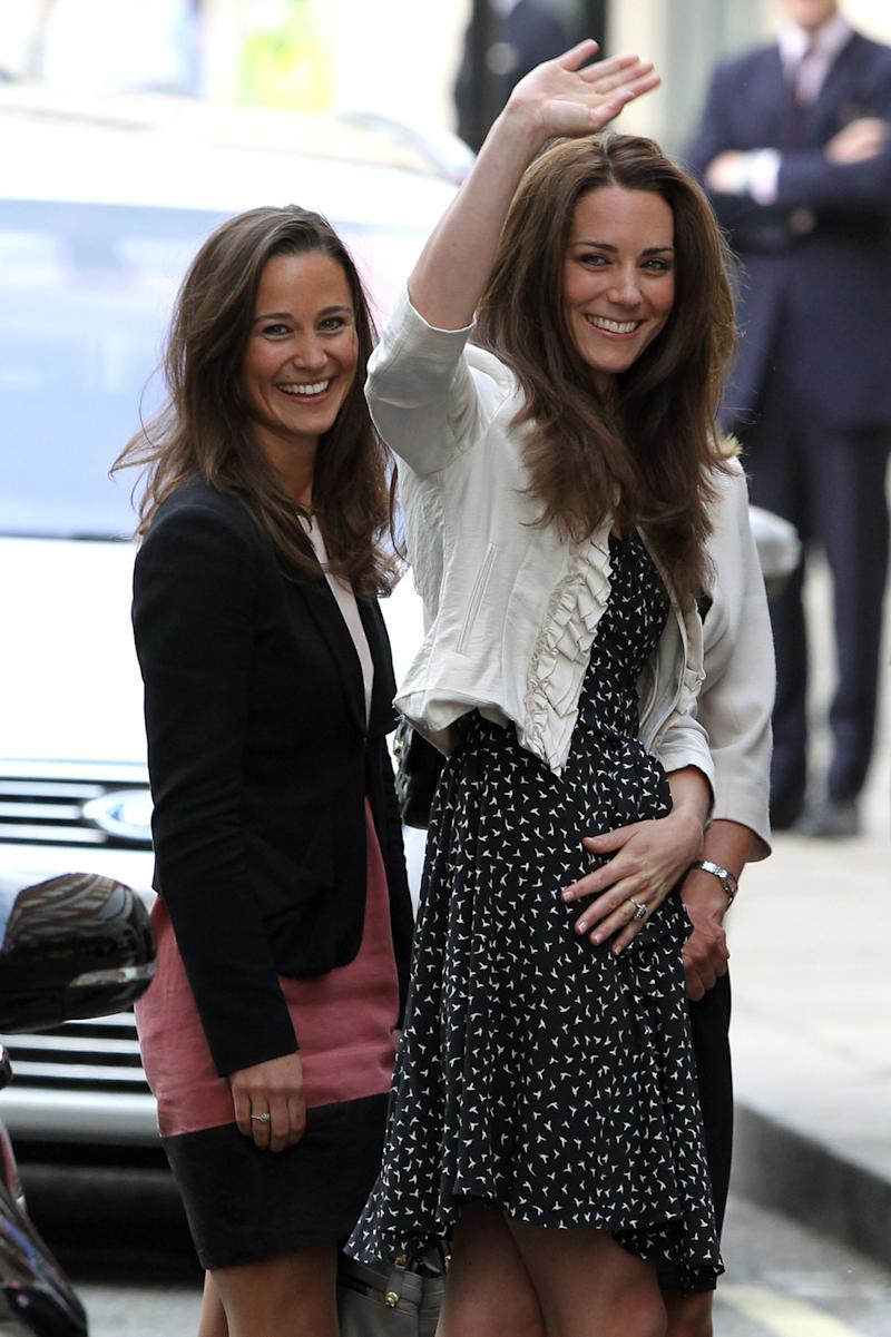 Pippa Middleton Enjoys Hen Party With Sister Kate Middleton in the French Alps
