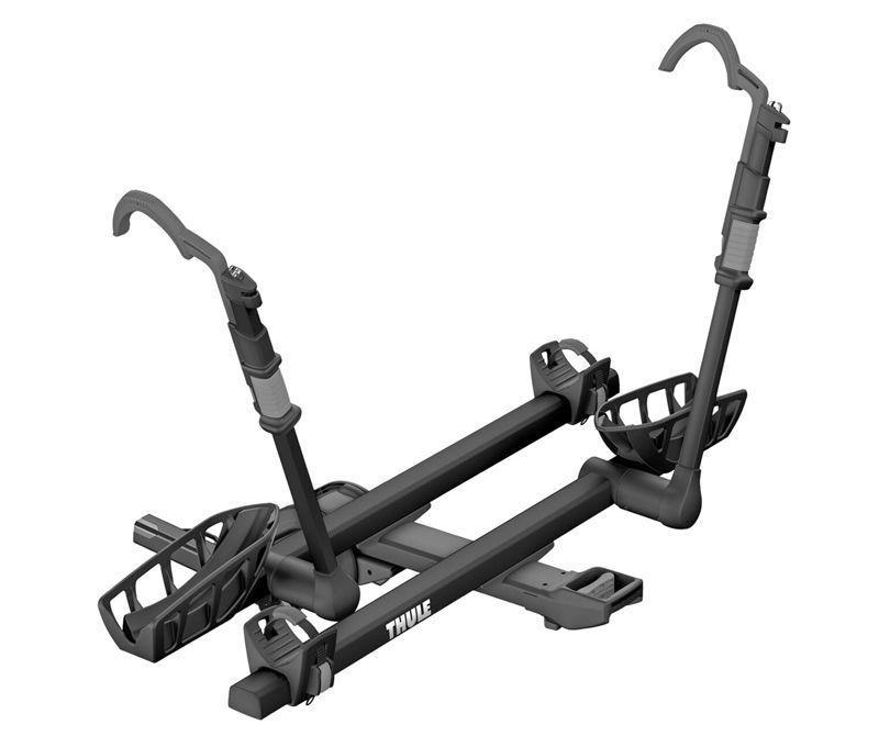"""<p><strong>Thule</strong></p><p>rei.com</p><p><strong>$649.95</strong></p><p><a href=""""https://go.redirectingat.com?id=74968X1596630&url=https%3A%2F%2Fwww.rei.com%2Fproduct%2F190985&sref=https%3A%2F%2Fwww.popularmechanics.com%2Fadventure%2Foutdoors%2Fg3146%2Fbest-bike-racks%2F"""" rel=""""nofollow noopener"""" target=""""_blank"""" data-ylk=""""slk:Shop Now"""" class=""""link rapid-noclick-resp"""">Shop Now</a></p><p><strong>• Type:</strong> Hitch<br><strong>• Number of bikes: </strong>2<br><strong>• Rack weight: </strong>52 lb.<br><strong>• Weight limit: </strong>60 lb. per bike</p><p>The T2 Pro XTR sets itself apart from the hitch rack competition because of its ease of use; you can operate the arm hook with one hand because of an intuitive hand grip/clamp, which makes moving bikes on and off this rack super easy. There's even a trigger handle that allows you to raise and lower the rack with a single hand, folding it up when it's not in use or lowering it when you want to access the trunk with the bikes still on. The rack can accommodate tires up to 5 inches wide, so it can carry all styles of bikes, and an integrated cable lock helps keep your bikes secure.</p>"""