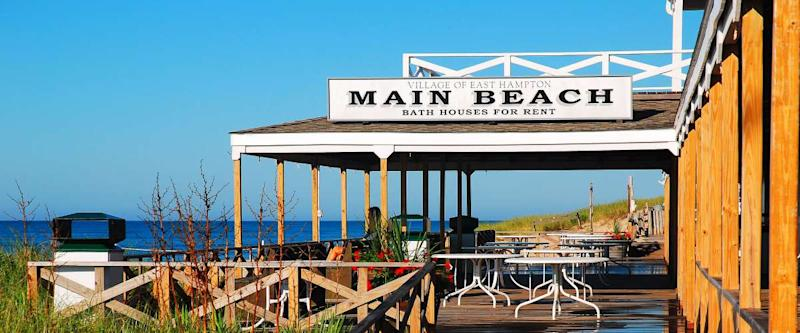 Main Beach in East Hampton, New York is consistently rated as one of the best beaches in the United States