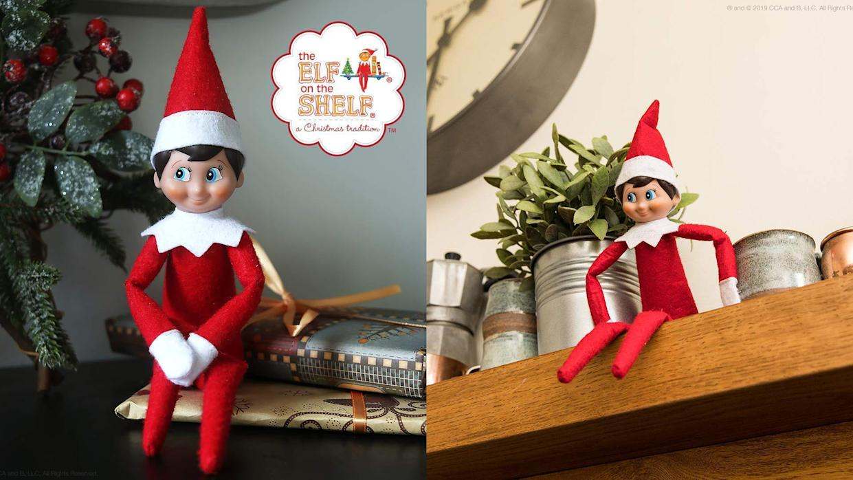 This festive elf is always up to some mischief—and he's a holiday must-have.
