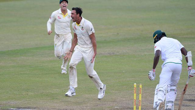 Starc sparked a South African collapse. Image: Getty