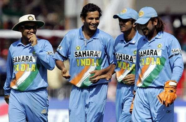 Irfan Pathan has named the likes of Sehwag, Dravid and Dhoni