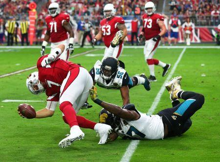NFL: Jacksonville Jaguars at Arizona Cardinals