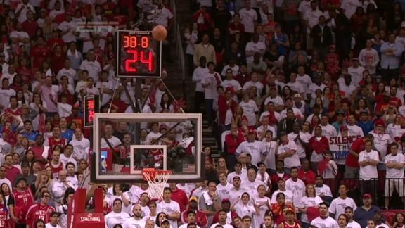 Kevin Durant gets shooter's roll on go-ahead 3, puts OKC up 3-0 on Rockets (Video)