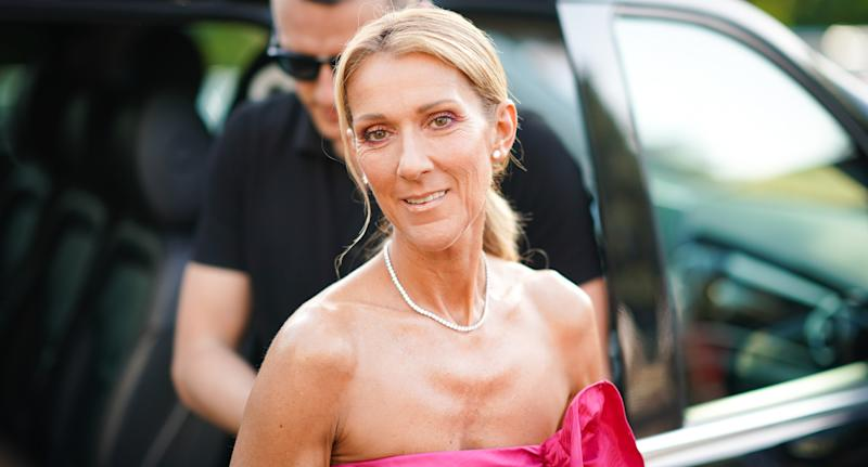 Céline Dion. (Photo by Edward Berthelot/Getty Images)