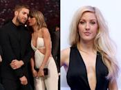 """<p>Ellie told <a href=""""http://www.dailymail.co.uk/tvshowbiz/article-3110642/Ellie-Goulding-reveals-played-matchmaker-pals-Calvin-Harris-Taylor-Swift.html"""" rel=""""nofollow noopener"""" target=""""_blank"""" data-ylk=""""slk:The Sun"""" class=""""link rapid-noclick-resp"""">The Sun</a> she played cupid for pals Taylor and Calvin, commenting, """"I did play matchmaker, that's true. Calvin is a really great mate and he's so fantastic, and Taylor is such a cool person who I love. I thought. 'They're both really awesome and both really tall, they'll be brilliant together'.""""</p>"""