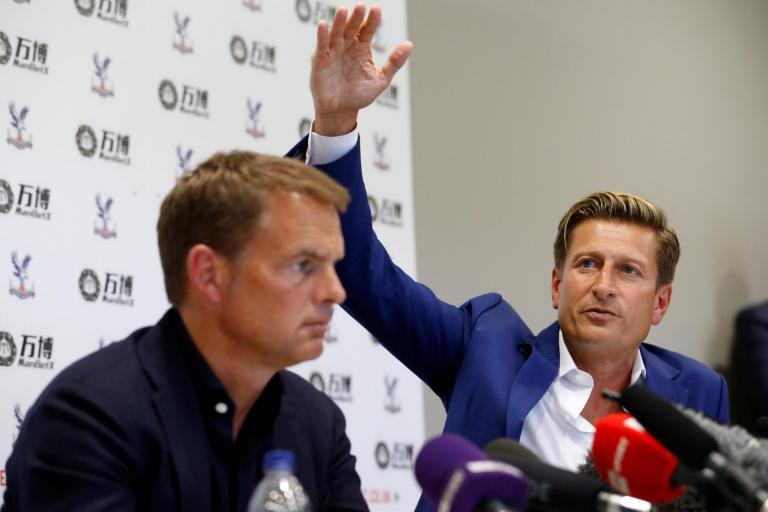 Steve Parish hopes Crystal Palace can emulate 'perfectly run' Ajax after Frank de Boer appointment