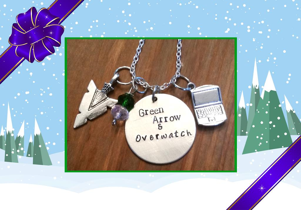 "<p>When you want to show off that you have an unquenchable thirst to see Oliver and Felicity together, but you want to do it subtly and in a fashionably understated way, try a charm necklace. There are a number of different options, including ""You have failed this omelette"" and a necklace for fans of Diggolicity when just one ship won't do. (Credit: <a rel=""nofollow"" href=""https://www.etsy.com/listing/265885443/arrow-olicity-hand-stamped-necklace?ref=shop_home_active_47"">Etsy.com</a>) </p>"