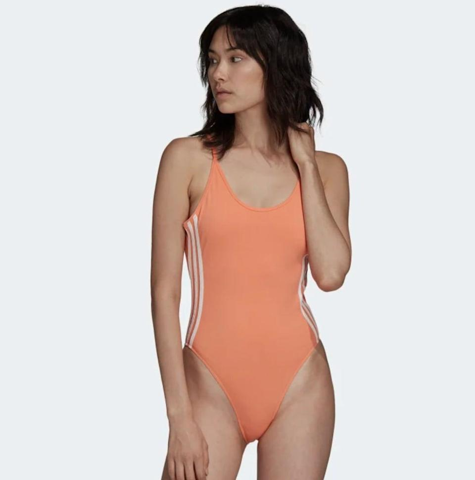"""<p>And of course, no '80s-inspired clothing haul would be complete without a leotard. This <span>Adidas Cotton Bodysuit</span> ($40) is a classic choice. Layer it over leggings to complete the look.</p> <p>Click <a href=""""https://www.popsugar.com/smart-living/Health-Wellness-Tips-46521311"""" class=""""link rapid-noclick-resp"""" rel=""""nofollow noopener"""" target=""""_blank"""" data-ylk=""""slk:here for more health and wellness stories, tips, and news"""">here for more health and wellness stories, tips, and news</a>.</p>"""