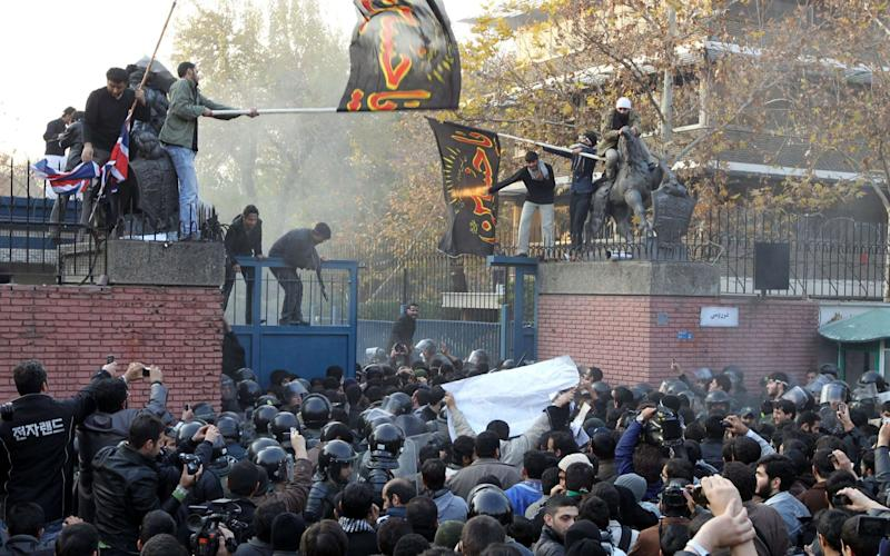 The UK embassy in Tehran was stormed in 2011 - AFP